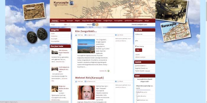 Kurucaşile Yerel Tarih Araştırmaları Websitesi