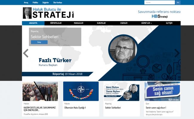 Haluk Bulucu ile Strateji Websitesi