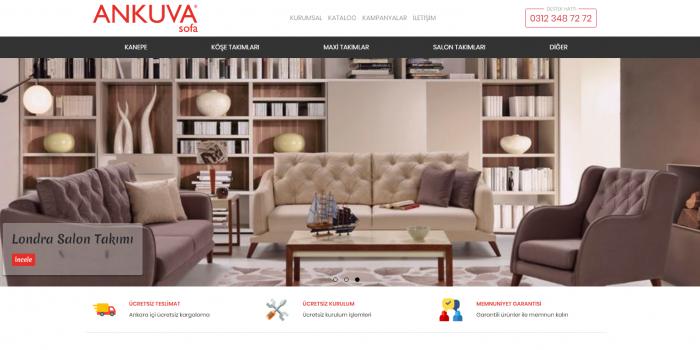 Ankuva Mobilya Sofa Websitesi